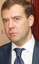 Dmitri Medvedev est le troisième président de la Fédération de Russie