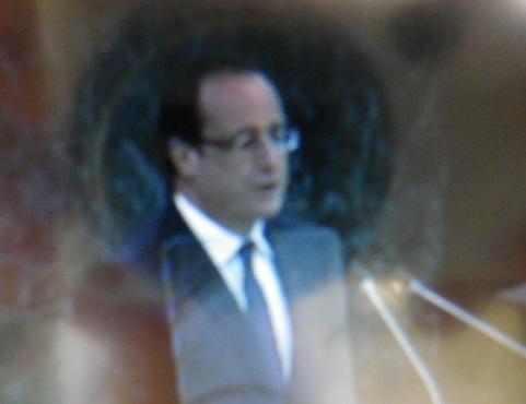 François Hollande, président de la République française à l'ONU, mardi 24 septembre 2013