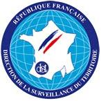 Logo DCRI, ecusson DCRI, logo officiel
