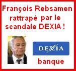 François Rebsamen rattrapé à Dijon par le scandale DEXIA !