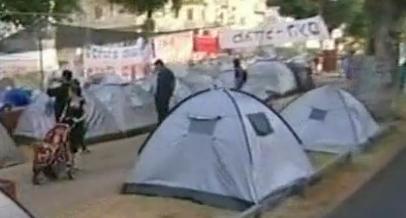 Les indignés d'Israël sous les tentes de la protestation !
